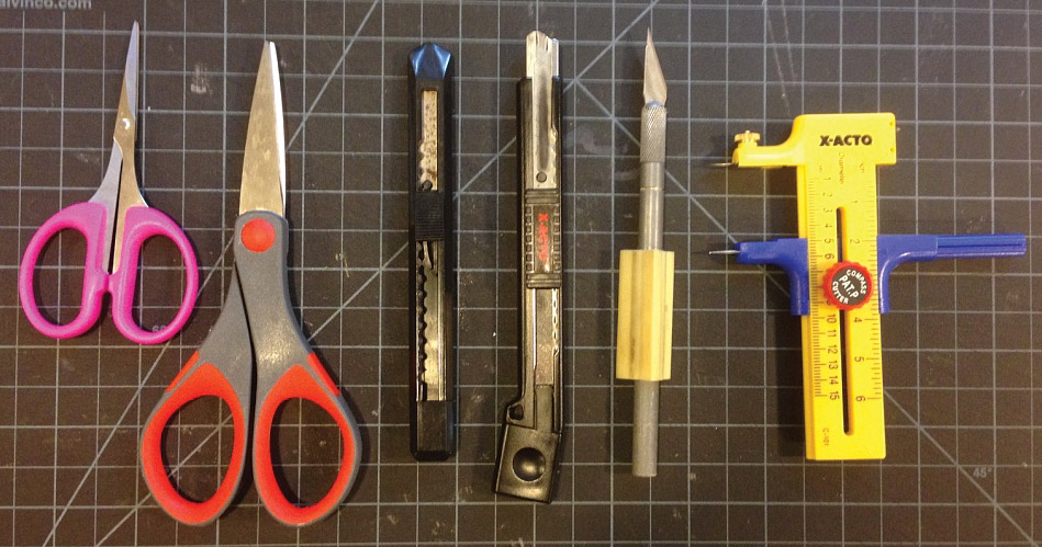 My cutting tools